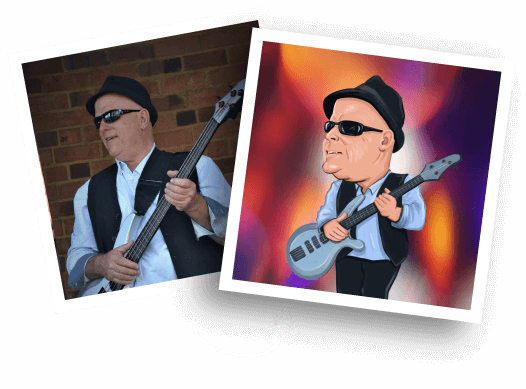 Music Caricature from photo
