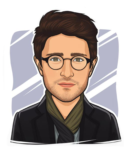 Harry Potter Caricature Drawing